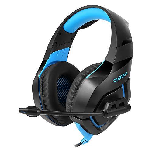 15-pin Video Extension Cable (PL ONIKUMA K1 Gaming Headset für PS4 PC Xbox One, Geräuschunterdrückung Stereo Bass Surround Kopfhörer mit Mikrofon blau)