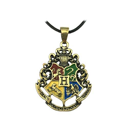 Harry Potter Collar colgante casa Crests películas libros Cosplay por Athena marcas