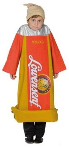 Senf 2-teilig Größe 128 (Senf Kostüm Kostüm)