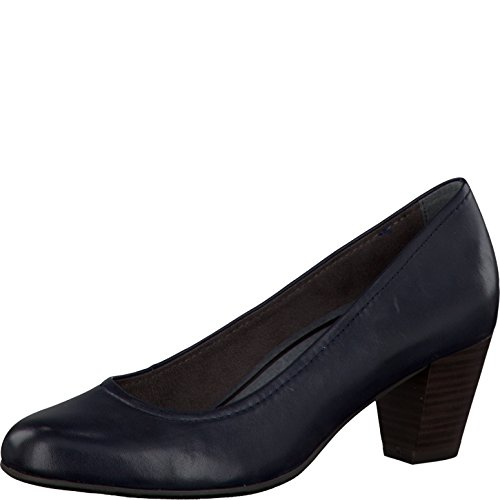 Tamaris Damenschuhe 1-1-22408-27 Damen Pumps Blau (Navy), EU 39 (Navy Schwarz Schuhe Hose)