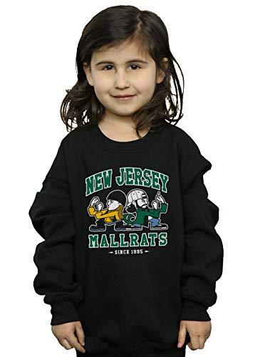 Absolute Cult Nemons Mädchen New Jersey Mallrats Sweatshirt Schwarz 3-4 Years - New Jersey-kinder Sweatshirt