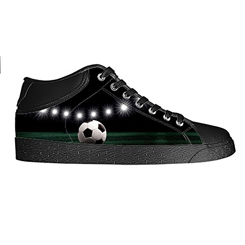 Custom Football SPORTS Men's Canvas Shoes Chaussures Lace Up High Top pour Sneakers Toile Chaussures de chaussures de toile chaussures de sport C