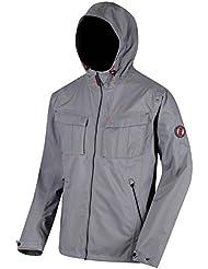 Regatta da uomo Bardolf stretch impermeabile giacca Shell, Uomo, Bardolf Stretch, Rock Grey, M