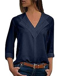 Mujer Ropa Amazon Blusas 3xl De es Trabajo X8qXYH