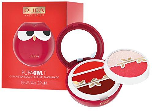 PUPA Trousse Owl 1004 Rojo Maquillaje Y Cosméticos