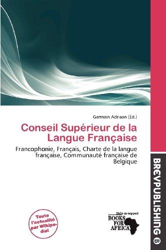 Conseil Sup Rieur de La Langue Fran Aise