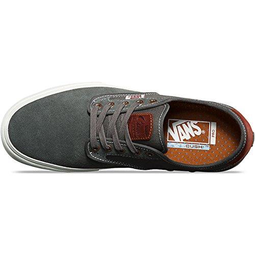 Vans AUTHENTIC, Unisex-Erwachsene Sneakers Gunmetal Burnt Henna