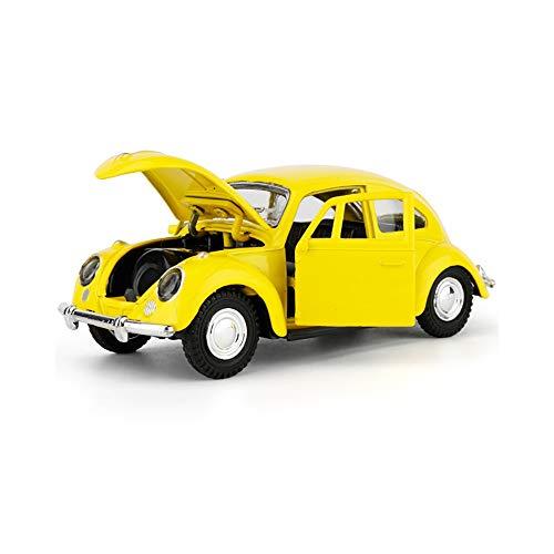 imulationsauto, vorbildliche Spielwaren, Geburtstagskuchen-Backen-Dekorationen - gelber Käfer ()