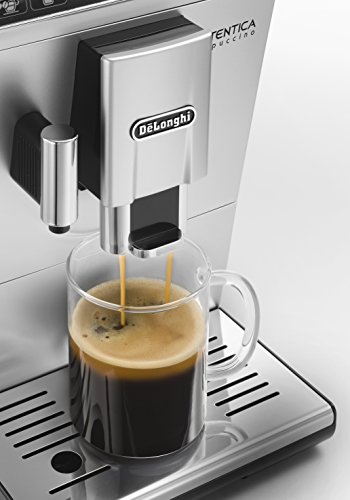 De'Longhi Coffee Maker (Freestanding, Coffee Beans, Ground Coffee, Fully-Auto, Espresso Machine) – Silver