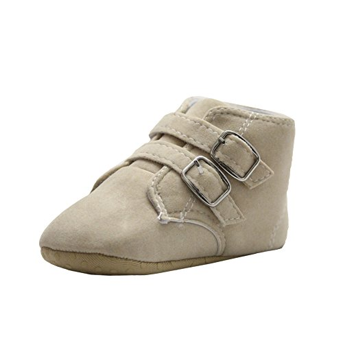 Abdc kids Baby Boys' Beige First Walking Shoes - 13 Cm_Age - 6-12 Month