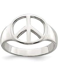 0fcf17d41aa1 Suchergebnis auf Amazon.de für  peace zeichen - Ringe   Damen  Schmuck