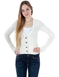 Abercrombie & Fitch - Cárdigan - para Mujer Blanco Blanco