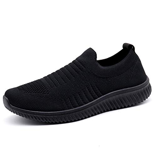 39e62cc4fe Womens Comfortable Walking Shoes Breathable Running Shoes Athletic Tennis  Shoes Casual Mesh Nursing Shoes Slip On
