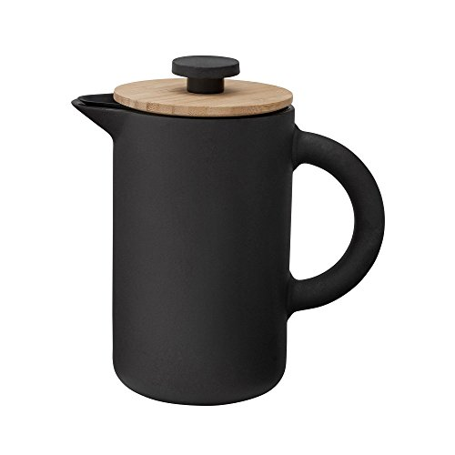 Stelton - Kaffeebereiter, Pressfilterkanne - Theo - 0,8 Liter - Keramik