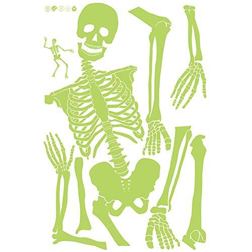 PerGrate Halloween Prop Luminous Menschliches Skelett Hängende Dekoration Outdoor Party Decor Liefert