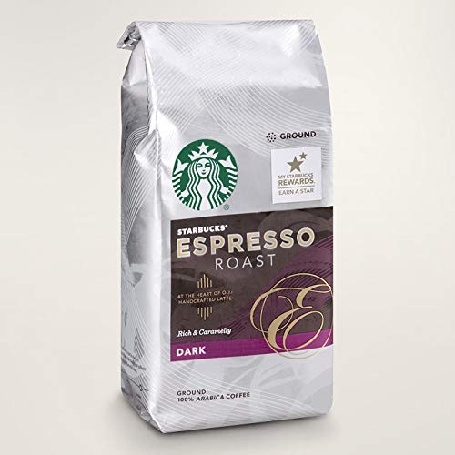 Starbucks® Caffè Espresso Roast mit Fairtrade-Siegel - Dark Roast 250g Whole Bean 100% Arabica Coffee