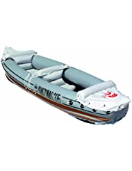 Friedola - Lancha con forma de kayak, color gris, talla: 320 x 78 cm