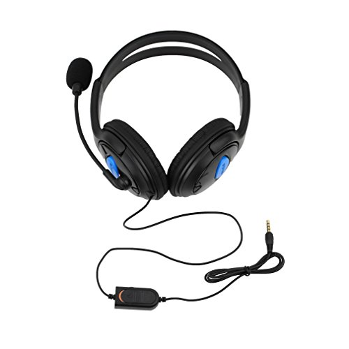 Price comparison product image Ulable Wired Gaming Headset Headphones with Microphone for Sony PS4 PlayStation 4