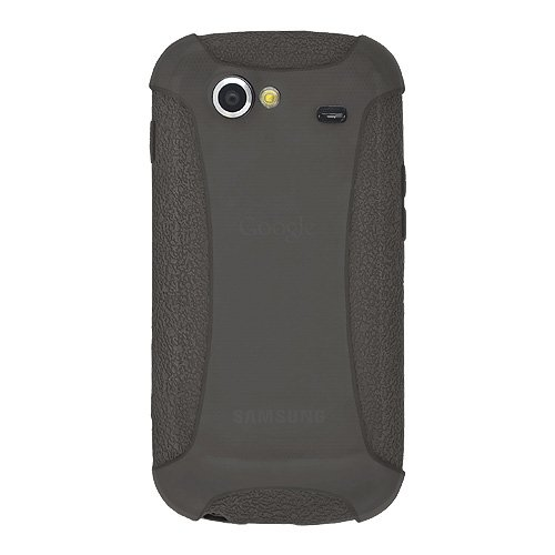 Amzer AMZ90164 Silicone Skin Jelly Case for Google Nexus S (Grey)  available at amazon for Rs.224