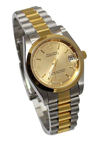 Damen Armbanduhr, Farbe Gold, kleines Zifferblatt, Kollektion Dolce Vita, wasserdicht