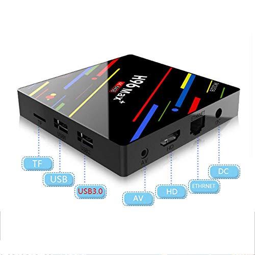 Android 8.1 TV Box 4G+32G/64G Netzwerk Kartenleser Player Drahtlose WIFI 2.4G Quad-Core Ultra HD Bluetooth Set Top Box mit Fernbedienung USB3.0