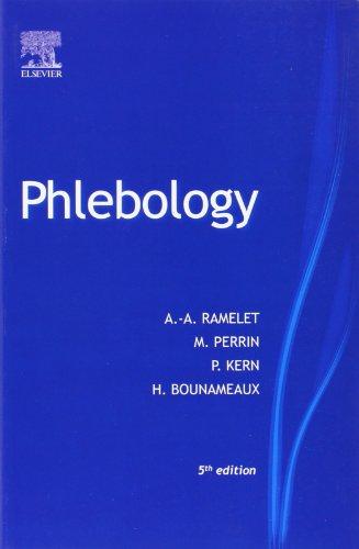 PHLEBOLOGY THE GUIDE par Albert-Adrien Ramelet