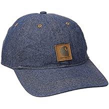 Carhartt Womens Odessa Chambray Cap - Indigo-One Size Ladies Peak Hat CHW102641402-One Size