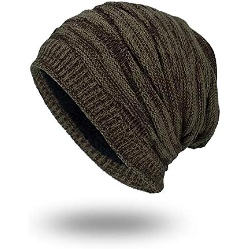 Euow Berretto di lana lavorato a maglia 3ddc468e4a55