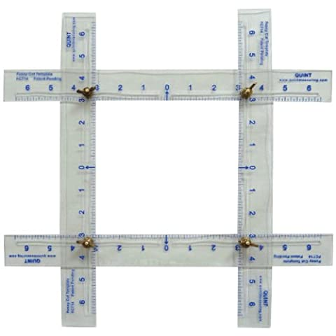 Quint Measuring Systems Quint Measuring Systems FCT14 Adjustable Fussy Cut Template