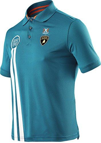 x-bionic-maglietta-x-for-automobili-lamborghini-tech-style-pro-man-stripes-ow-short-sleeves-polo-uom