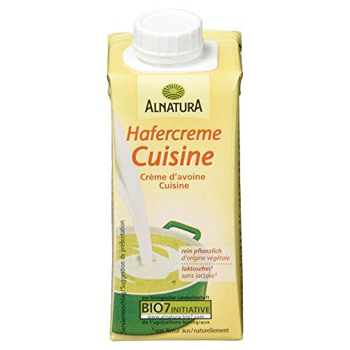 Alnatura Bio Hafercreme Cuisine, 200 ml