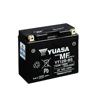 YUASA BATTERIE YT12B-BS AGM offen mit Saeurepack