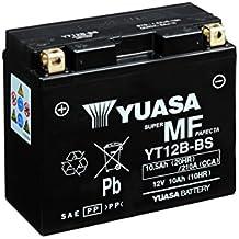 YUASA BATTERIE YT12B-BS AGM aperto con imballaggio acido