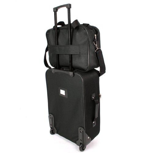 5 tlg. Kofferset Trolley Reisekoffer Koffer ink. Kulturbeutel ineinander Stapelbar - 5