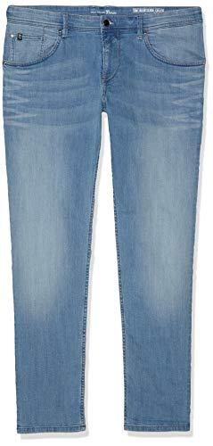 TOM TAILOR Denim Herren Culver Skinny Jeans, Blau (Used Light Stone Blu 10118), W31/L34 (Jeans Blu Skinny)