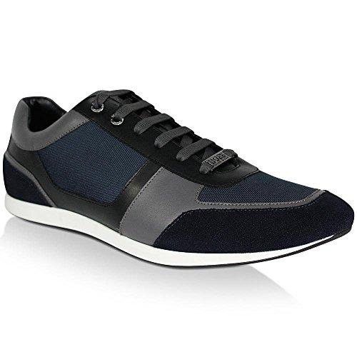 Hugo Boss Herren Sneaker Fulltime, 50374168, Dark Blue, UK8/42 (Hugo Boss-blaue Schuh)