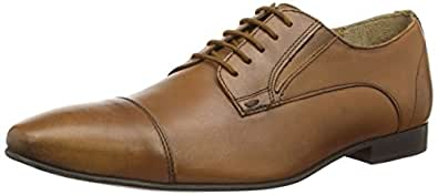 Ben Sherman  Enox, Chaussures de ville à lacets pour homme Marron Marron (clair) 47