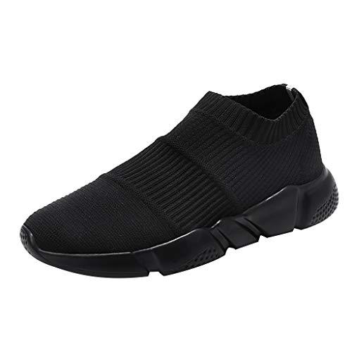 Salalook Sneaker Herren Sportschuhe Outdoor Leichtgewichts Laufschuhe Freizeit Atmungsaktive Herren Sommer Socken Flut Schuhe Casual Slip-On Sneaker Mesh Breathable Sneakers -