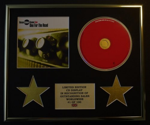 OCEAN COLOUR SCENE/CD-Darstellung/Limitierte Edition/COA/ONE FOR THE ROAD -