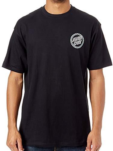 Santa Cruz T-Shirt - Fast Times Dot schwarz Größe: XL (X-Large) (Santa-t-shirt)