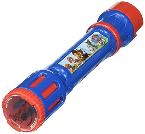 (Joy Toy 40315 Figuren & Charactere Paw Patrol Taschenlampe mit 6 austauschbaren Linsen zum Projizieren-in Blisterverpackung, 5.2 x 1.4 x 9 cm)