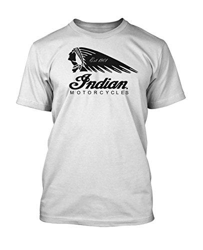 Glare UK Herren T-Shirt, Slogan Weiß