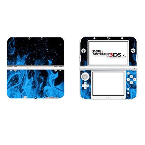 Taifond Vinyl Haut Aufkleber Cover Case für Nintendo 3DS XL-Ice Flame Case Cover Ice