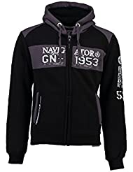 Geographical Norway - Sweat à capuche Enfant Geographical Norway Glapping Noir