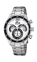 Lotus 10120/1 - Reloj de Pulsera Hombre, Acero Inoxidable, Color Plata de Lotus