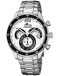 Amazon.es  Lotus - Blanco   Hombre  Relojes 4255e506ad9b