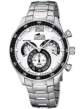 Lotus Herren-Armbanduhr Analog Quarz Edelstahl 10120/1