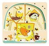 Djeco - Puzzle 3 niveles casita en el árbol