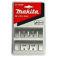 Makita D–Blister 2Bıçaklar için Tip HSS 82mm fırçalar 11001923B KP0800KP0810KP0810°C