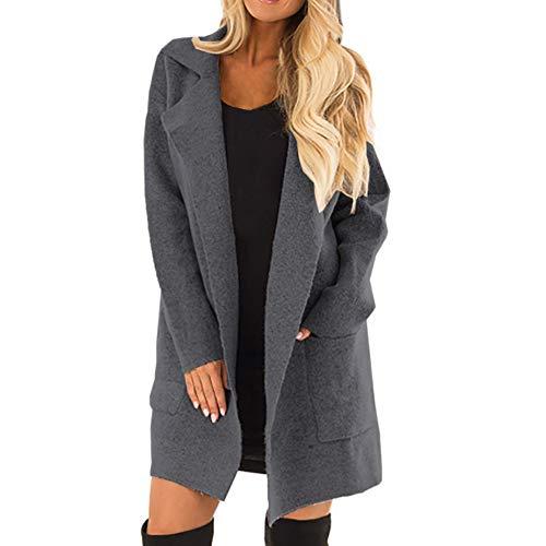 & Aktivitäten Frauen Kater Sweatshirts Sport Pullover Tops Hoodies mit Taschen Kapuzenpullover für Damen ()